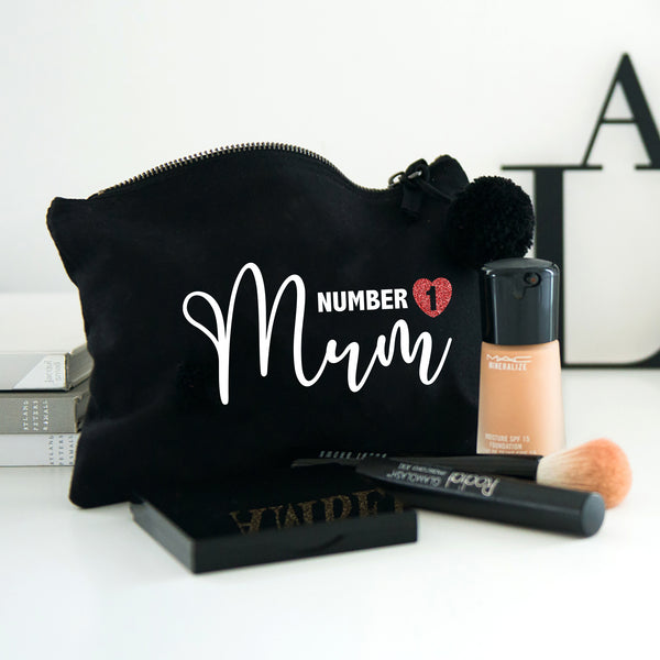 Number 1 Mum make up bag