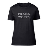 'Pilates Works' Short Sleeve fitted Tee