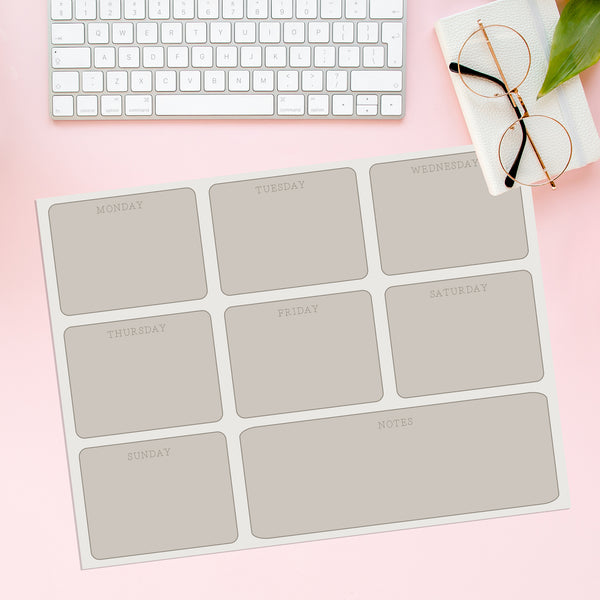 Magnetic Planner- Plain