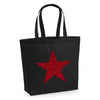 'Glitter Star' Tote Bag
