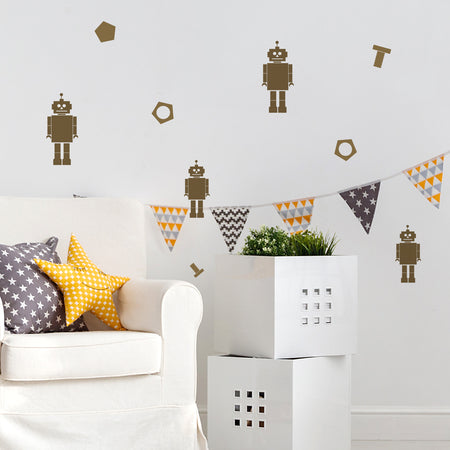Mini Music Note Wall Stickers
