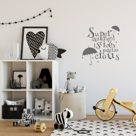 'A Little Bit of What You Fancy' Wall Sticker