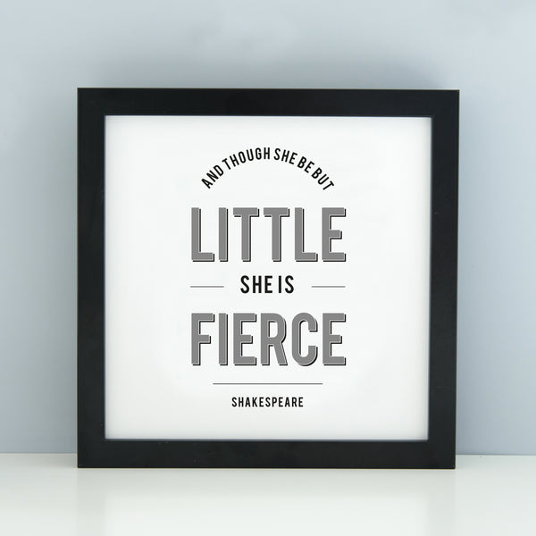 ' And though she be but little' Print