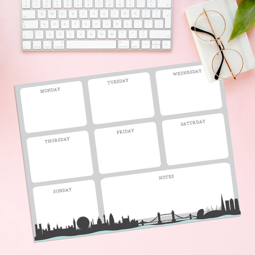 London Skyline Magnetic Planner