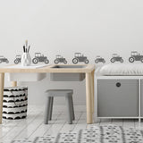 Mini Tractor Wall Stickers
