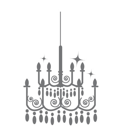 'Chandelier' Wall Sticker