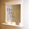 'Ho, Ho, Ho' Wall Sticker Set