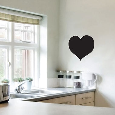 Heart Chalkboard Wall Sticker