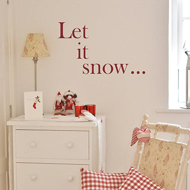 Mini Snowflake Wall Stickers
