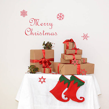 Merry Christmas 2 Wall Sticker