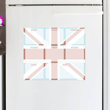 Union Jack Magnetic Planner