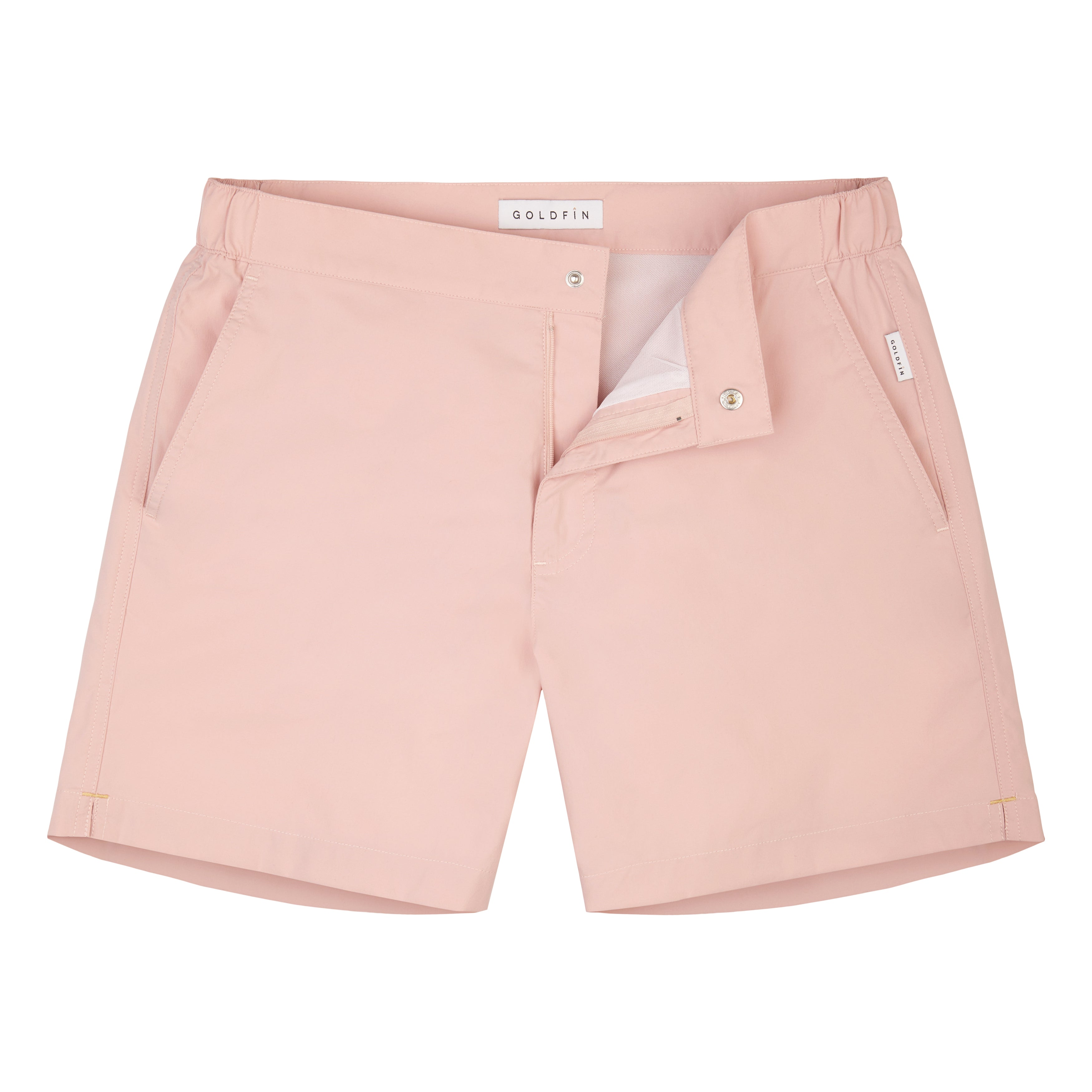 Pale Pink SwimGym Shorts - GOLDFIN Swim Shorts