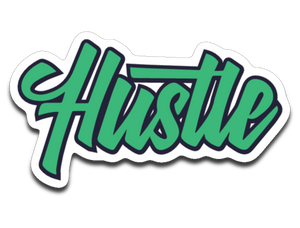 Hustle Decal