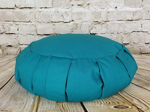 Zafu Meditation Cushion - Deep Teal