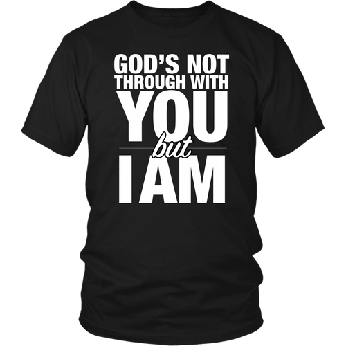 God is God. I Am Not.
