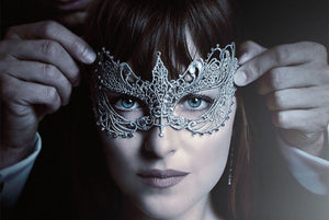 fifty shades darker anastasia dakota johnson masquerade mask