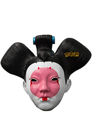 Latex Ghost in The Shell Geisha Robot Mask - Perfect Cos Play or Halloween Costume