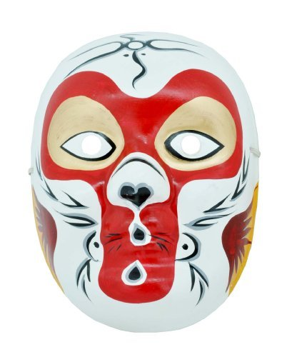 Beijing Opera Mask, Chinese Opera Mask, Costume Mask, Face Mask, Monkey King Mask