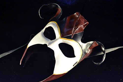 Jester Handmade Genuine Leather Mask