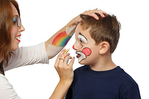 Face and Body Paint Crayons Mega Pack 32 colors for festival costumed party makeup - multi color