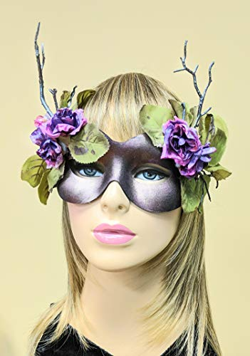Pixie Rose Fairy Fantasy Faerie Masquerade Mask