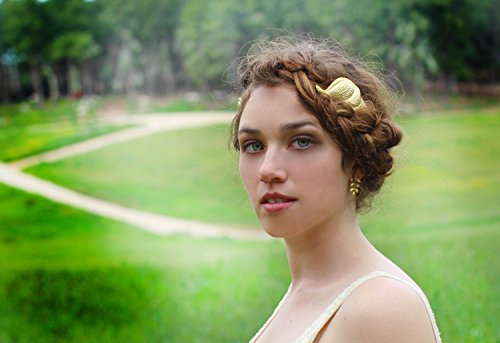 Greek Goddess Giant Wing Headband or Crown, Perfect for a Grecian Wedding or Boho Festival Party