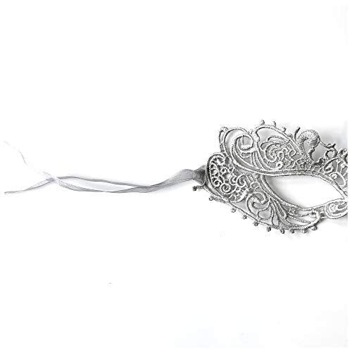 The Authentic 50 Shades Silver Goddess Mask