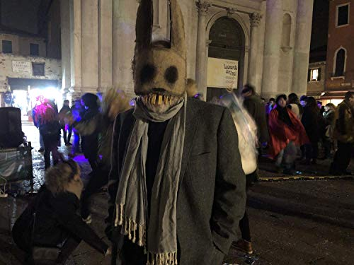 Creepy Scary Bunny Rabbit Masks for Groups and Couple's Costume, Set of 3, Cosplay, Film & Movie Props for Photo Shoots, Masquerades and Other Fun Times.