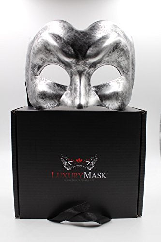 Luxury Men's Venetian Party Masquerade Mask