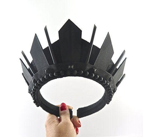 Black Deco Crown