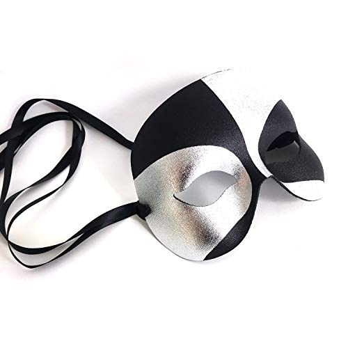 Robot Masquerade Mask for Men
