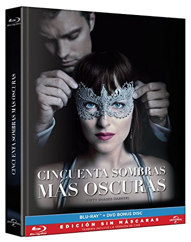 Fifty Shades Darker (Cincuenta Sombras más Oscuras) Blu-ray + 8-page Book of Pictures + Special Features Bonus DVD