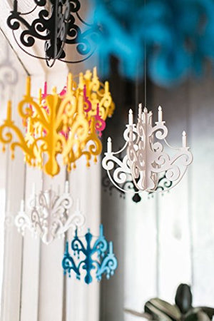 Small Faux Chandelier Simple and Stylish Party Decoration