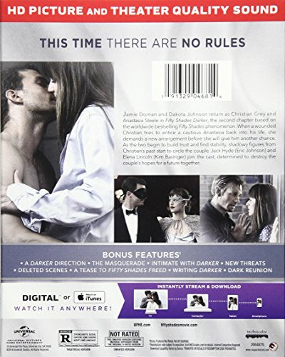 Fifty Shades Darker [Blu-ray]