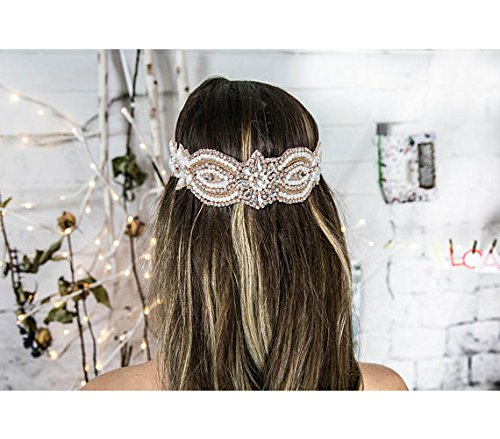 Forehead Band, Bridal Headpiece, Boho Hair Jewelry, Chain Headband, Women's Hair Accessories, Vintage Hair Piece