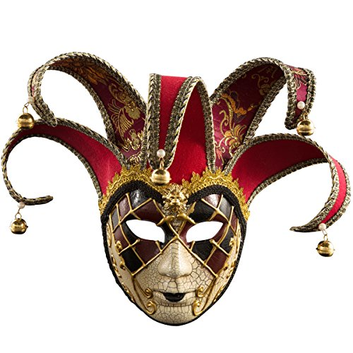 Venetian Masquerade Mask Women Costume Halloween Cosplay Mask Party Ball Prom Mardi Gras Wedding