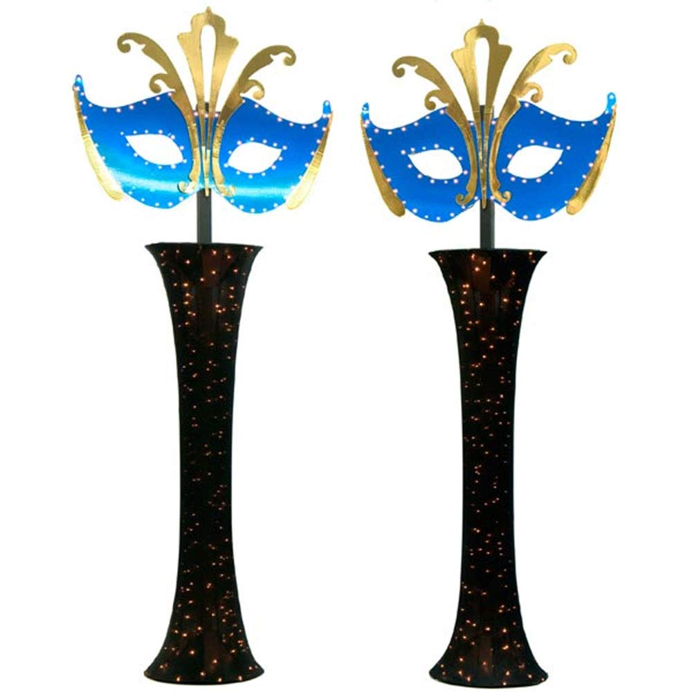 Mystery and Magic Light-up Mask Columns Kit, Set of 2