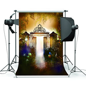 Masquerade Mysterious Door Photography Backdrop Customized Photo Background Studio Prop