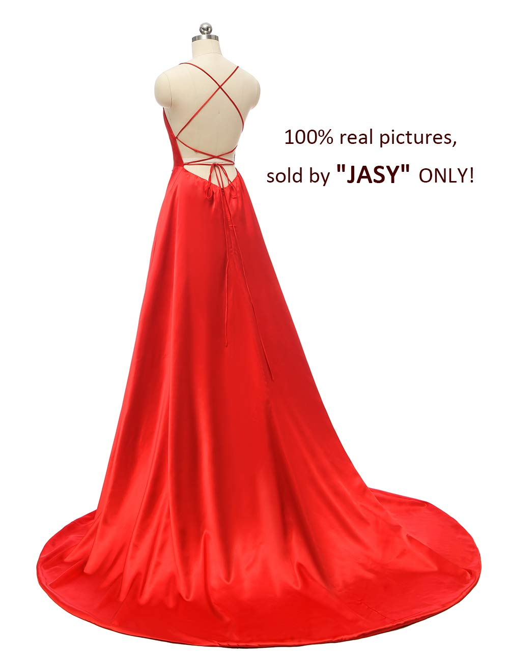 Masquerade Ballgown Dress Spaghetti Satin Long Black Prom Dresses with Pockets