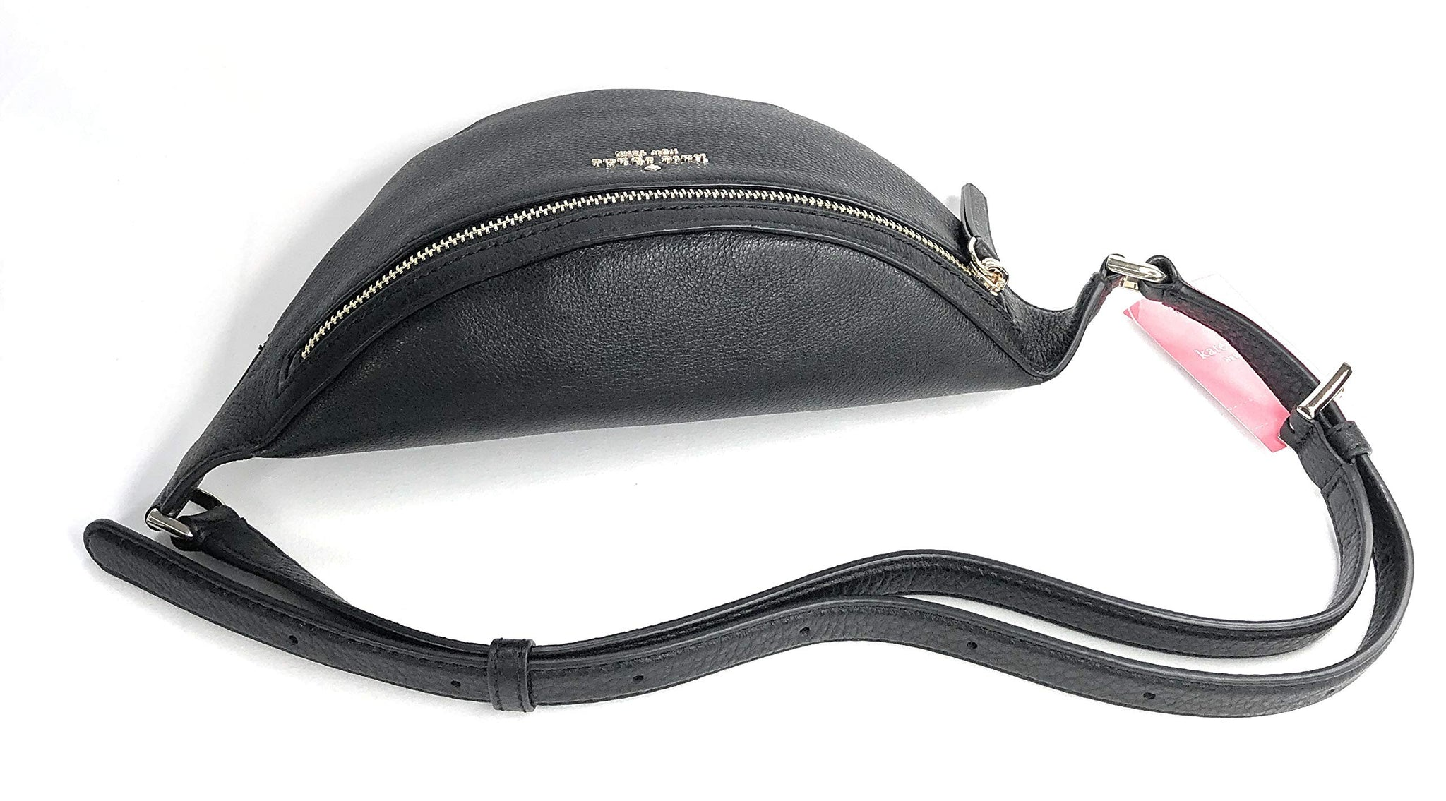 Kate Spade Jackson Belt Bag Pebble Leather Black Fanny Pack