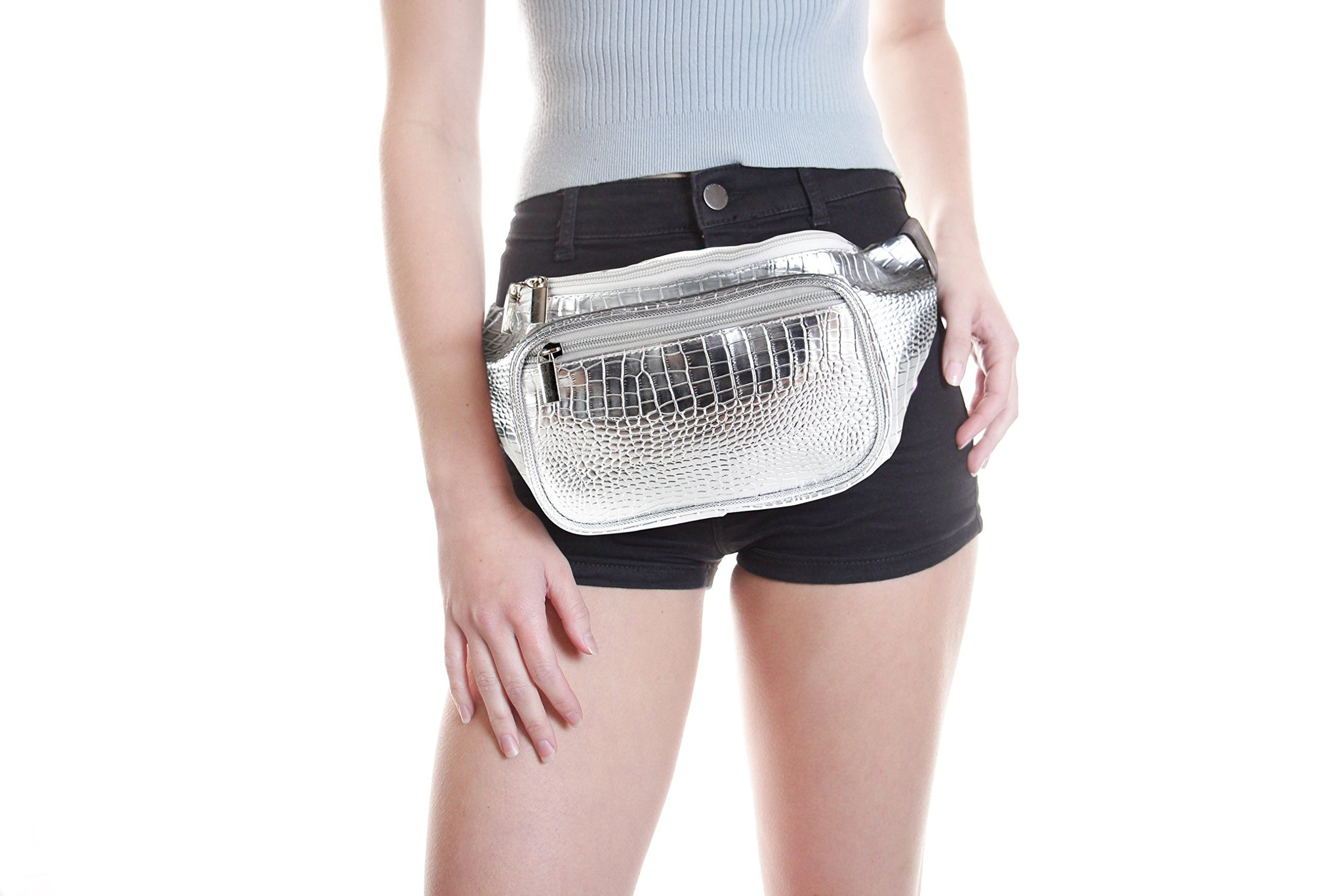 Party Festival Fanny Pack Fashion Casual Waist Packs for Women Printing Bag for Travel for Rave Day
