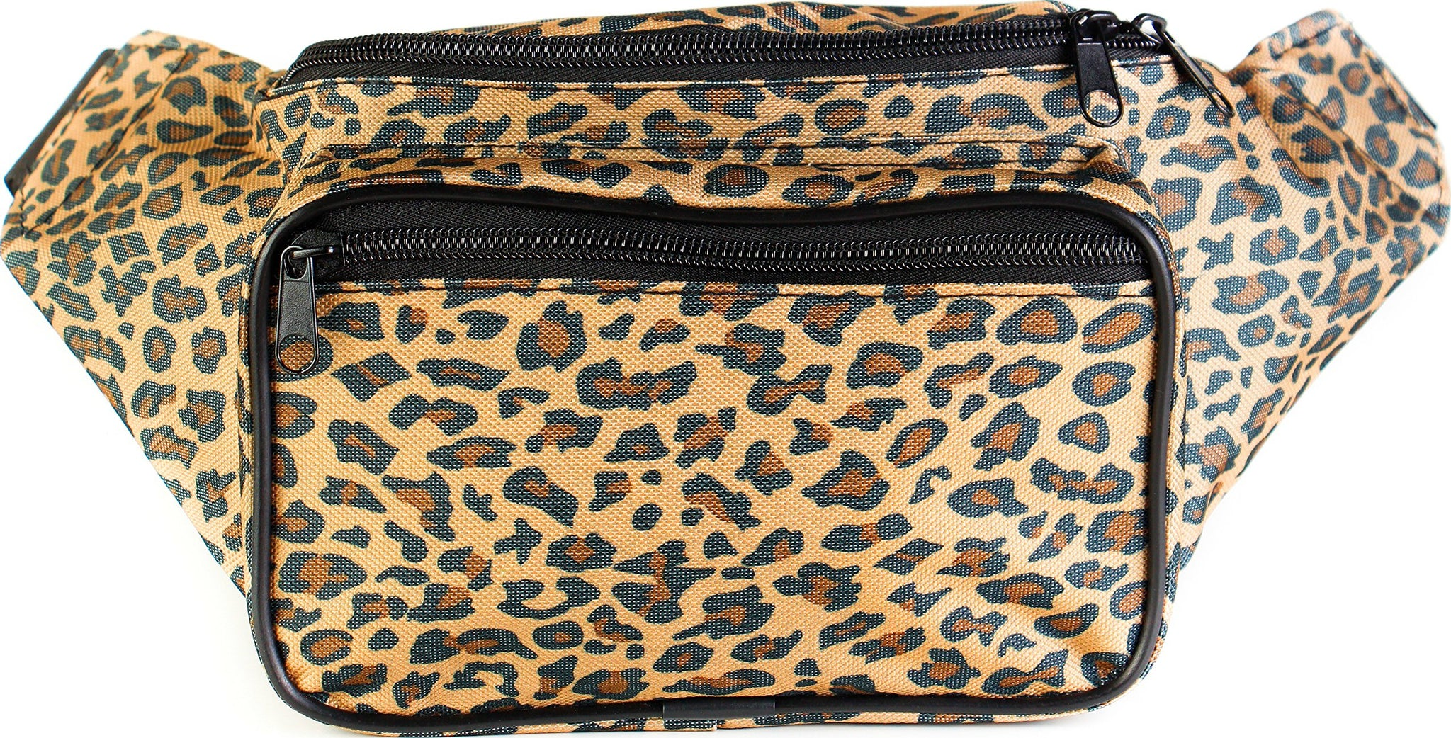 Yellow by SoJourner Bags Classic Solid Bright Colors Fanny Pack
