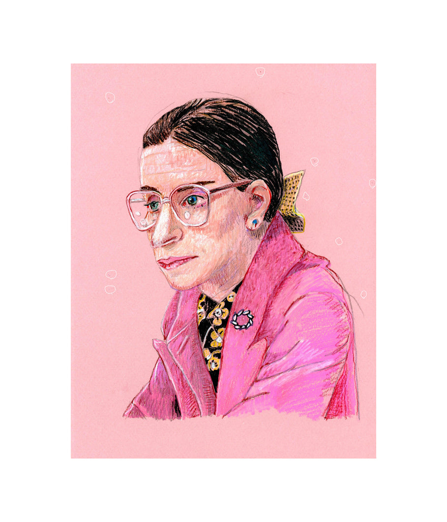 RBG, 2020, Signed and Numbered Limited Edition Print