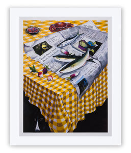 Still Life (For Dani), 2020, Signed and Numbered Limited Edition Print