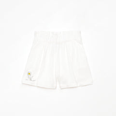 Weekend House Kids White Flower Short