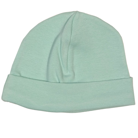 Soft Mint Cotton Hat