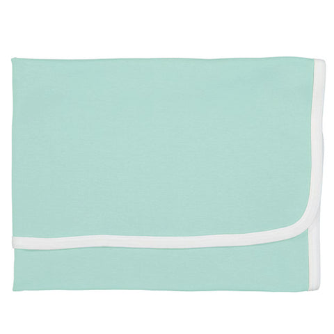 Soft Mint Cotton Blanket
