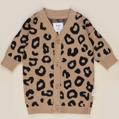 Huxbaby Caramel Animal Knit Cardi