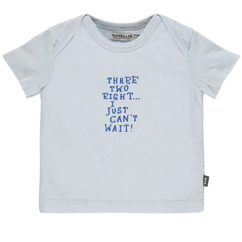 Imps & Elfs Sky Grey Three Two Tee