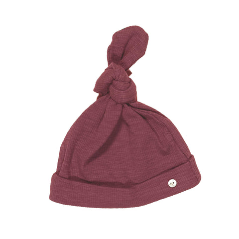 Berry Ribbed Hat